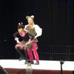 """Amelie & Carolina als """"Tom & Jerry"""""""